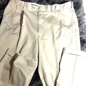 Alan Flusser Tan Chinos Size 38x32
